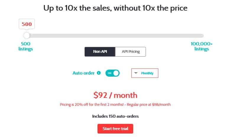 SaleFreaks Pricing Plans