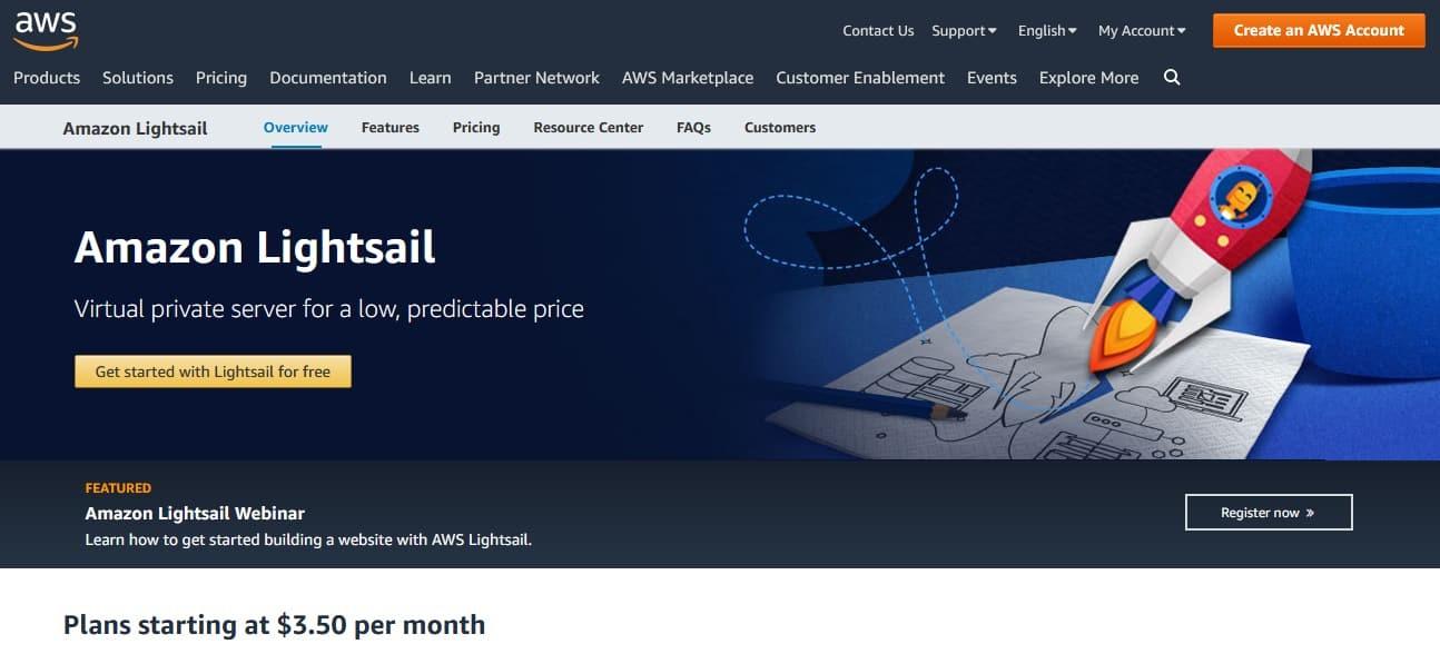Amazon Lightsail Free Credit