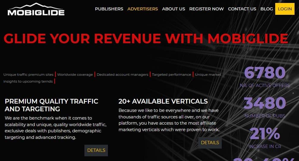 Mobiglide Affiliate Network