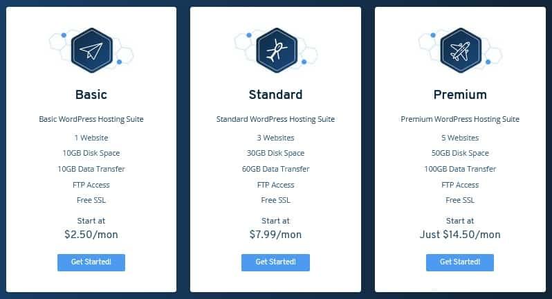 SeekaHost WordPress Hosting Pricing